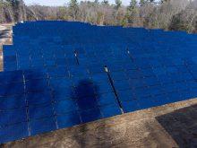 Wheaton's 1.3MW solar field
