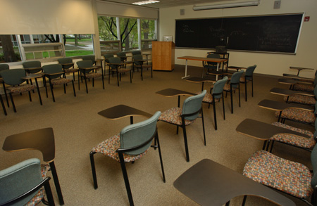 Meneely Classrooms 102 / 105 / 207 / 209 / 307
