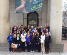 group trip to Body Worlds Exhibit