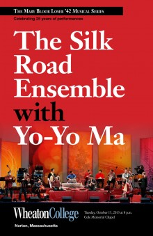 The Silk Road Ensemble, fall 2013