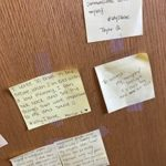 Sticky notes about why I write