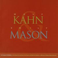 Wolf Kahn & Emily Mason catalog (thumb)