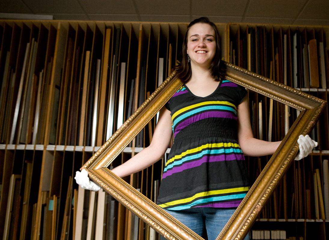 Jen Valentino, CSR Student Employee