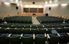 Science Center Hindle Auditorium, seats 200 with media.