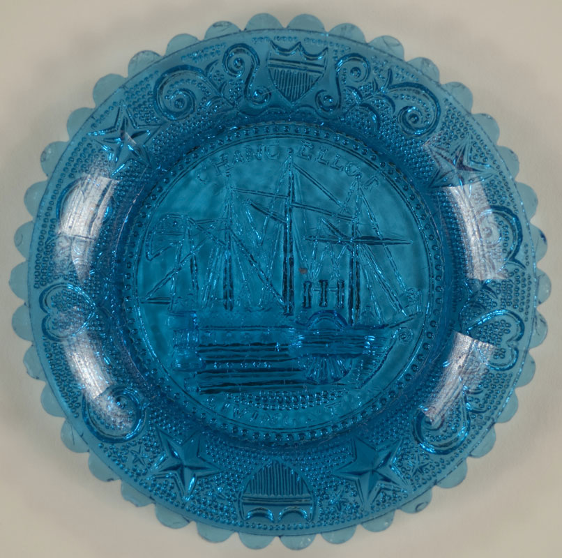 Chancellor Livingston Ship Cup Plate (351851)