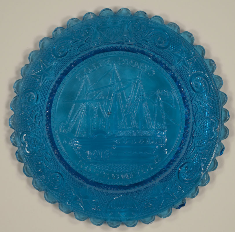 Chancellor Livingston Ship Cup Plate (351852)