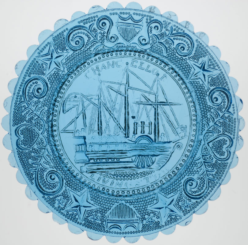 Chancellor Livingston Ship Cup Plate (353768)