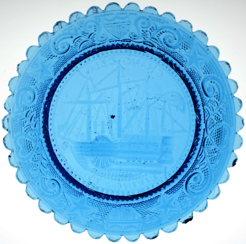 Chancellor Livingston Ship Cup Plate (353769)