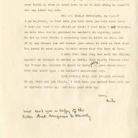 Letter to Esther I. Seaver. Ruth Hornbostel. Photocopy. January 28, 1946.