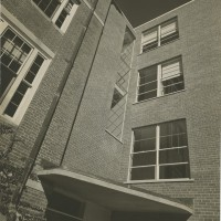 Science Hall Modernist Wing. Unidentified Photographer. Photograph. 1941.