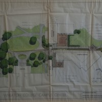 Landscape Design Plan: SAB to Balfour-Hood Renovation. Bastille-Neiley/Amsler Hagenah MacLean Architects, Inc. Paper, ink. 62 x 92 cm. 1985.