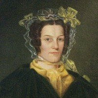 Portrait of Elizabeth Wheaton Strong. Painted after 1834 by Eunice Makepeace Towle