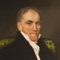 Portrait of Judge Laban Wheaton. Painted after 1834 by Eunice Makepeace Towle