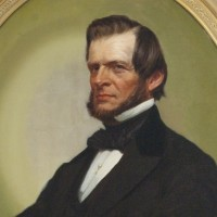 Portrait of Laban Morey Wheaton. Painted after 1834 by Eunice Makepeace Towle.