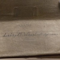 Pocketbook owned by Laban Morey Wheaton.