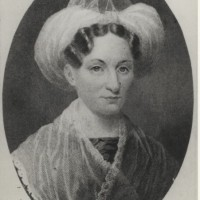 Engraving based on a portrait of Mary Lyon. Date unknown.