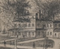 Residence of Mrs. E.B. Wheaton, Norton, Massachusetts; G.H. Bailey & Co. Lith & Pub. Boston, 1891