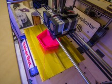 Printing a Metabiaugmented Dodecahedron