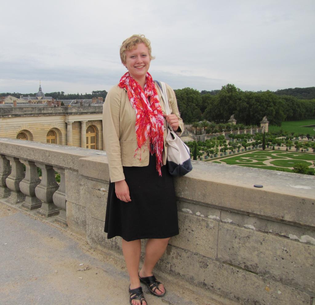 Pauline Bickford-Duane at the Versailles Orangerie