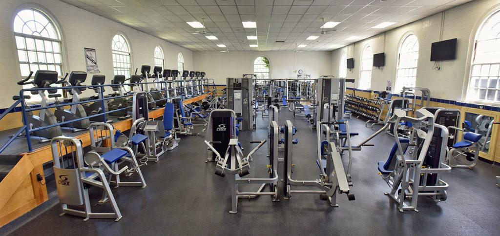 Fitness Center Wheaton College Massachusetts
