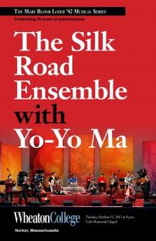 Silk Road Ensemble, fall 2013