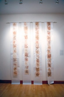 Emma DeVito '13 student art exhibit
