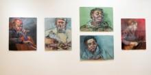 Stephanie Hoomis '13 student art exhibit