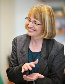Wheaton Professor Jennifer Lanni