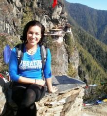 Ana Brenes Coto in Bhutan