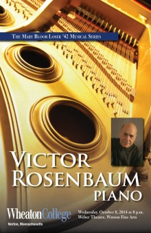 The Loser Concert Series presents Victor Rosenbaum, piano