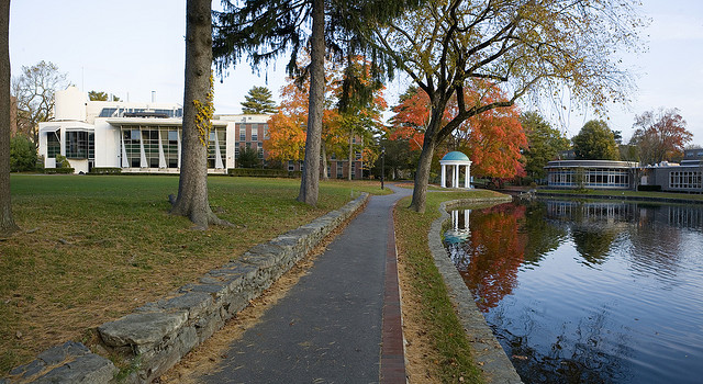Mars Arts and Humanities and Chase Dining Hall - Wheaton College Massachusetts