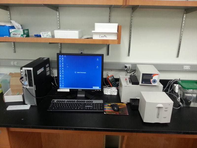 Agilent 8453 Diode Array UV-Vis (2)