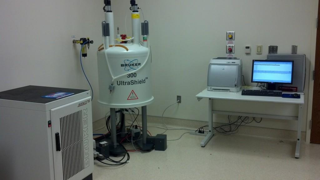 COMING SOON! Bruker 300MHz NMR Spectrometer
