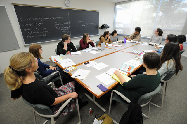Women's and Gender Studies students