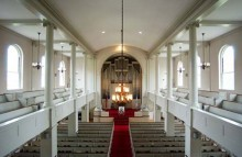 Cole Memorial Chapel, Sanctuary, seats 700.