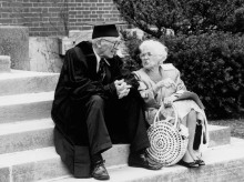 Professor Holcombe Austin and Ethelind Austin
