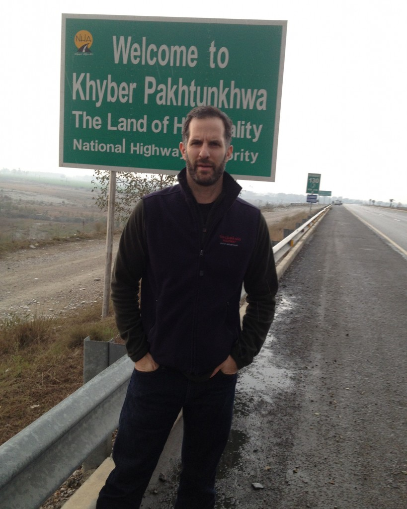 Entering Pakistan's KPK region January 2013