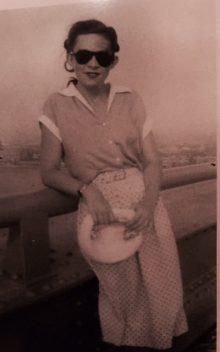 Photo of Maimu Seepere Yllo, Hamburg, Germany, 1949