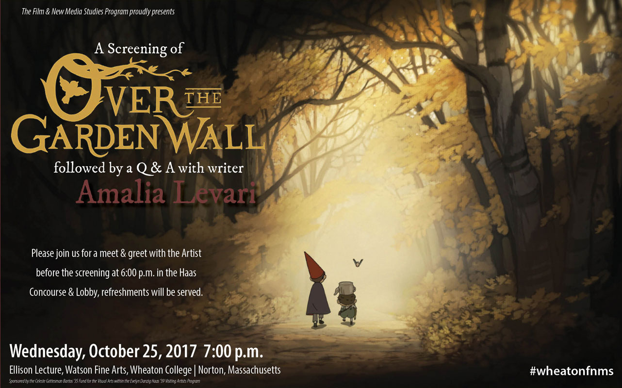 over the garden wall with writer amalia levari - Over The Garden Wall Poster