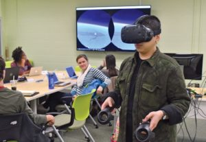 Virtual reality takes students to other worlds