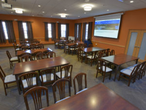 Larger view of Faculty Dining Room