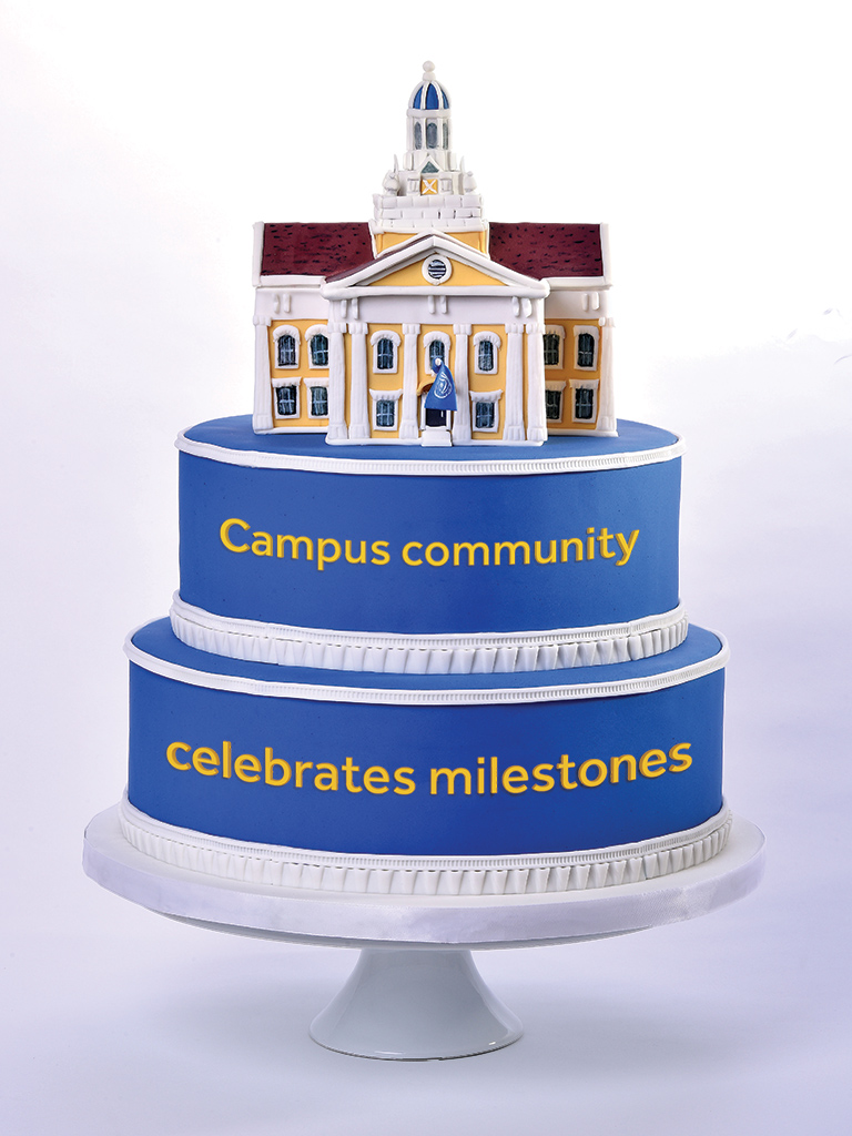 Campus community celebrates milestones