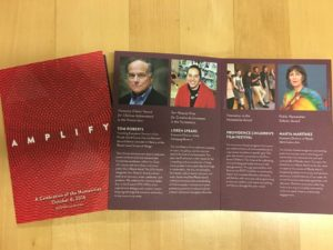 Program for 2016 Celebration of the Humanities