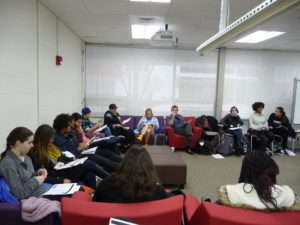 Workshop on Queerness and Queering attendees