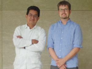Domingo Ledezma and Patrick Johnson