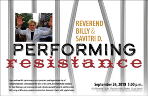 Poster for Performing Resistance