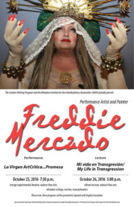 Poster for Freddie Mercado Events