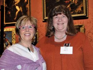 Evelyn Staudinger and Ann Sears