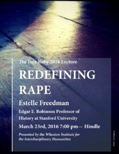 Poster for Redefining Rape
