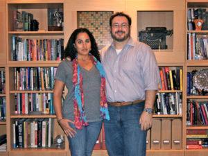 Touba Ghadessi and Josh Stenger